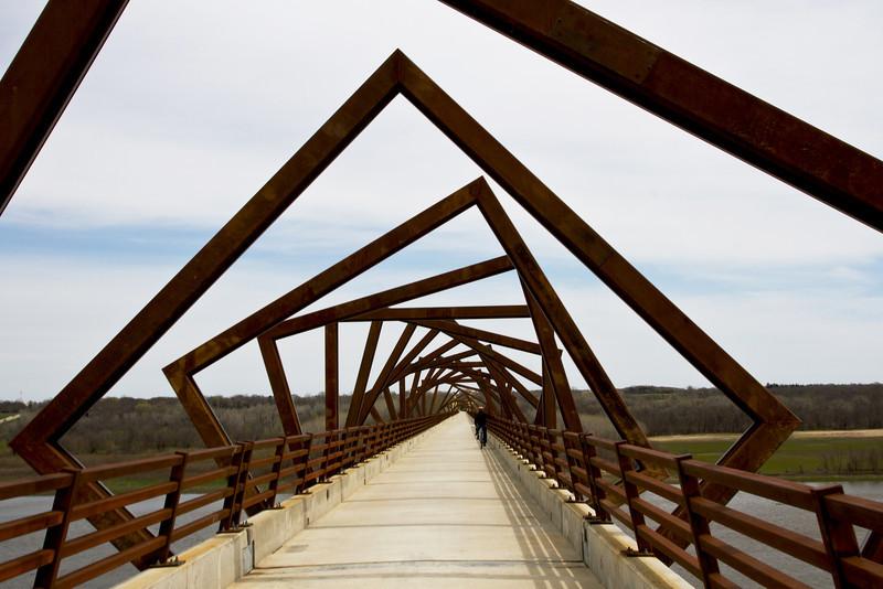 High Trestle Trail Bridge - 30w x 20h - Color No Border