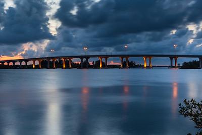 Barber Bridge Sunset from Riverside Park-78