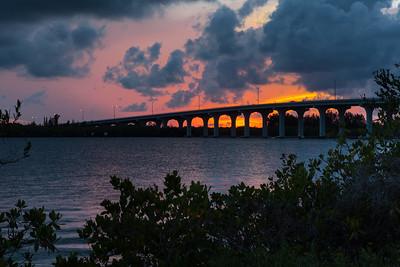 Barber Bridge Sunset from Riverside Park-31