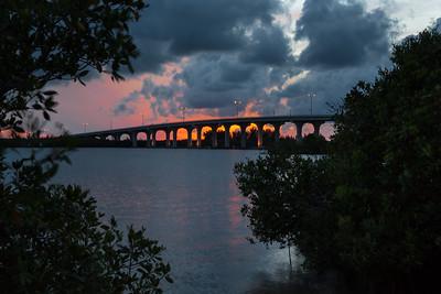 Barber Bridge Sunset from Riverside Park-45