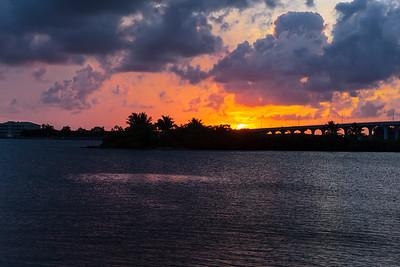 Barber Bridge Sunset from Riverside Park-22