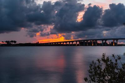 Barber Bridge Sunset from Riverside Park-60