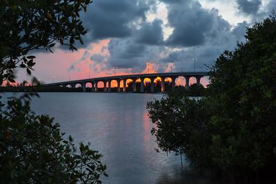 Barber Bridge Sunset from Riverside Park-47