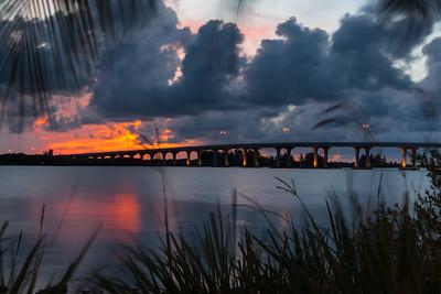 Barber Bridge Sunset from Riverside Park-62