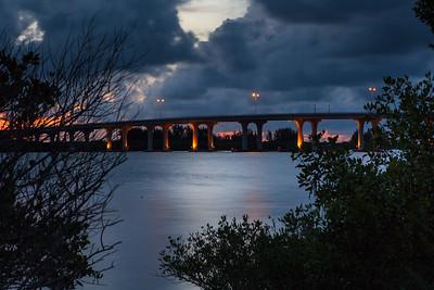 Barber Bridge Sunset from Riverside Park-76