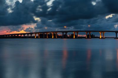Barber Bridge Sunset from Riverside Park-81