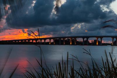 Barber Bridge Sunset from Riverside Park-67