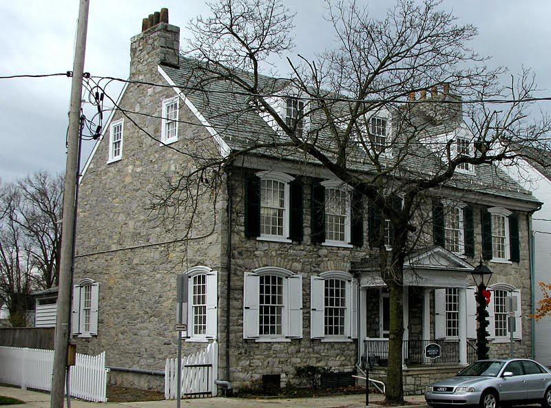 View of the house as seen on the historical society's website