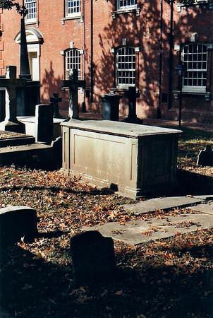 Benjamin Chew Grave