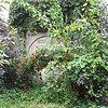 In 2013, the tomb of John Eager Howard and his wife Peggy Chew was quite overgrown.