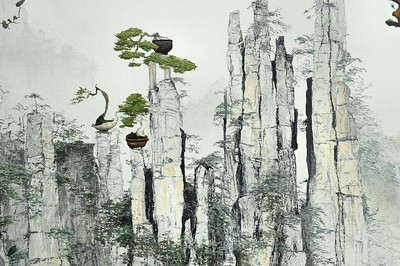 2020 - Living in a penjing world (detail)