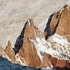 2008 - First appearance of Mount Fitz Roy (detail)