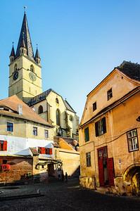 Sibiu City Scene