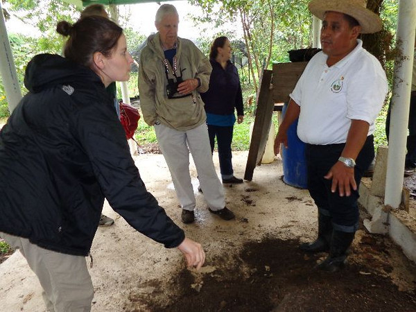 Here, Posh explains that, compost that has dried for just six months is sterile, nutrient-rich, and ready to be used to fertilize maize, beans, or other crops grown by Ch'ol farmers.