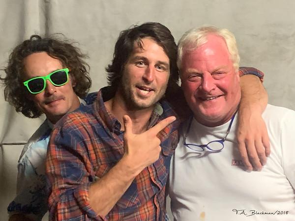 Charlie, Elliot and Doug Koch