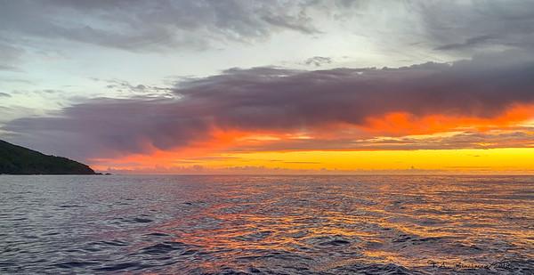 Pitcarin Sunset