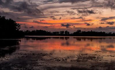 Sunset on Pelee Island