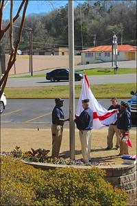 Raising of the Alabama State Flag