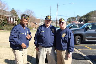 Kenneth Paschal, Frank lakotich, Post Trustee, Tom McDaniel, Commander