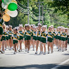 Pelham cheerleaders walk the parade for Pelham's Old Home Day. SUN/Caley McGuane