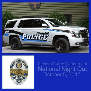 Pelham Police National Night Out October 5, 2017