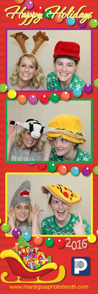 Photo Strips from Pelmorex Media Children's Holiday Party 2016