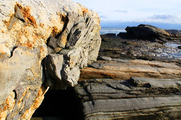 12.11.15 Pemaquid Point - High Tide with Debbie Walsh