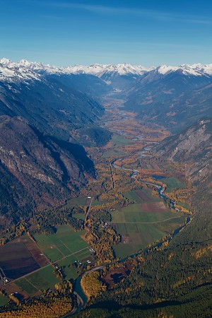 Pemberton and Area from the Air