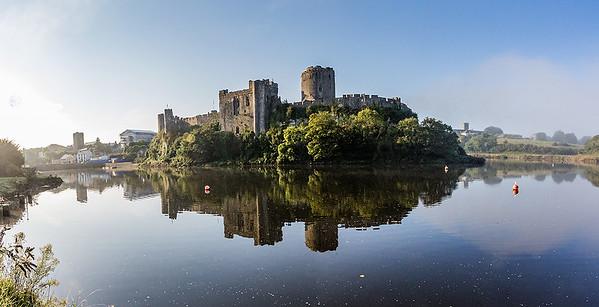 Early morning, Pembroke Castle