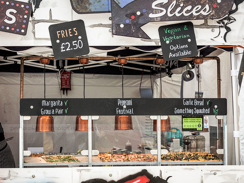Pembrokeshire Street Food Festival. Open Sat & Sun as well.