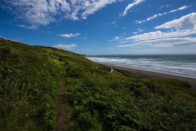 Newgale coast path