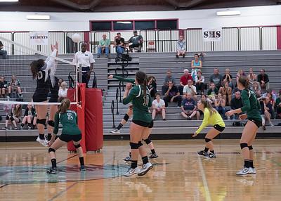 Pen High vs Shelton Volleyball 09-28-17