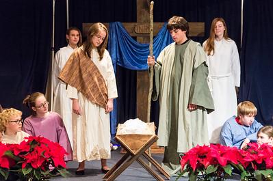 2012-12-24 PUMC Youth Nativity