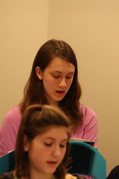 PUMC Youth Choir Rehearsal 2009-03-15 (2)