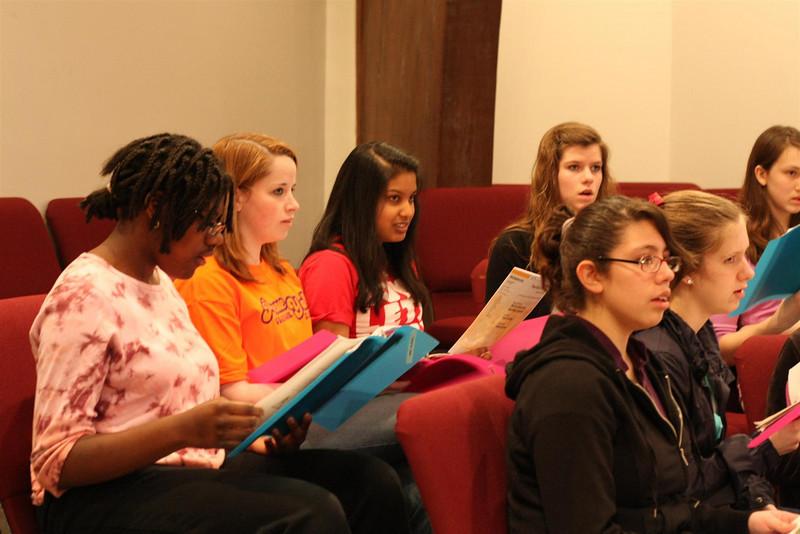 PUMC Youth Choir Rehearsal 2009-03-15 (35)