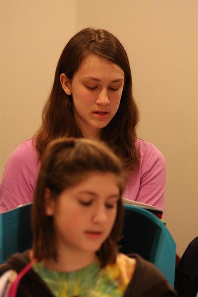PUMC Youth Choir Rehearsal 2009-03-15 (11)