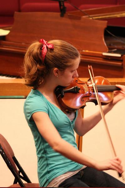 PUMC Wind Ensemble Rehearsal 2009-03-15 (42)