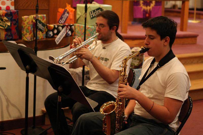 PUMC Wind Ensemble Rehearsal 2009-03-15 (15)
