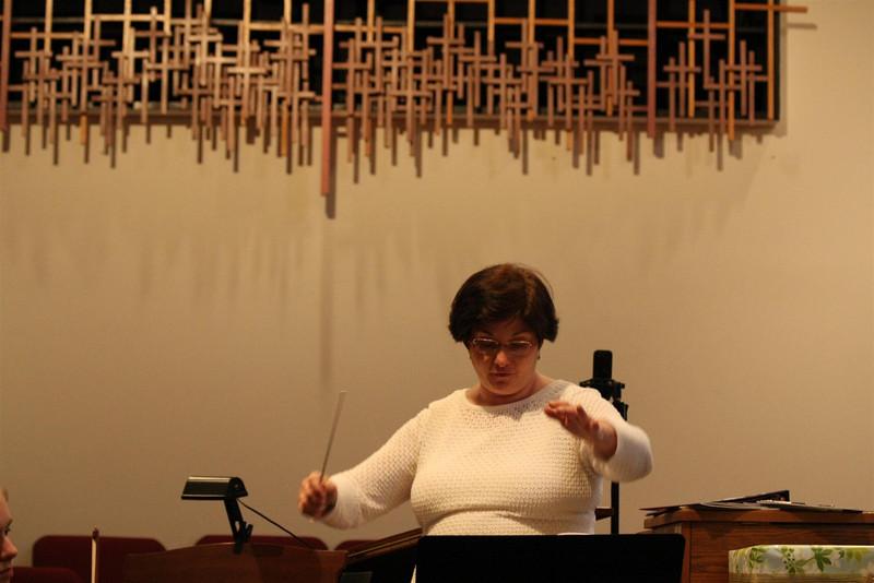 PUMC Wind Ensemble Rehearsal 2009-03-15 (27)