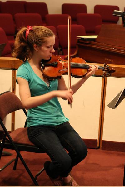 PUMC Wind Ensemble Rehearsal 2009-03-15 (12)