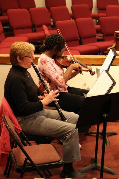 PUMC Wind Ensemble Rehearsal 2009-03-15 (24)
