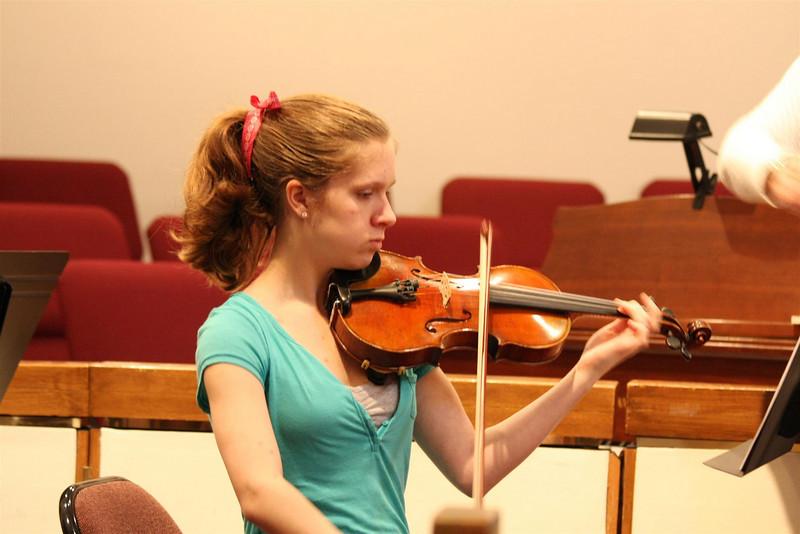 PUMC Wind Ensemble Rehearsal 2009-03-15 (28)