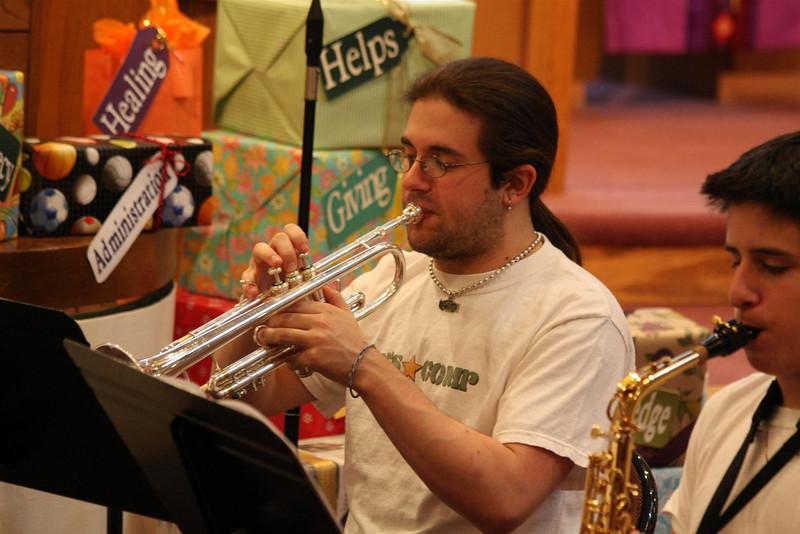 PUMC Wind Ensemble Rehearsal 2009-03-15 (38)