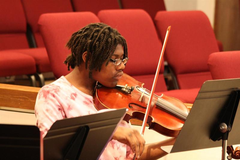 PUMC Wind Ensemble Rehearsal 2009-03-15 (33)