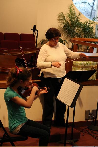 PUMC Wind Ensemble Rehearsal 2009-03-15 (23)