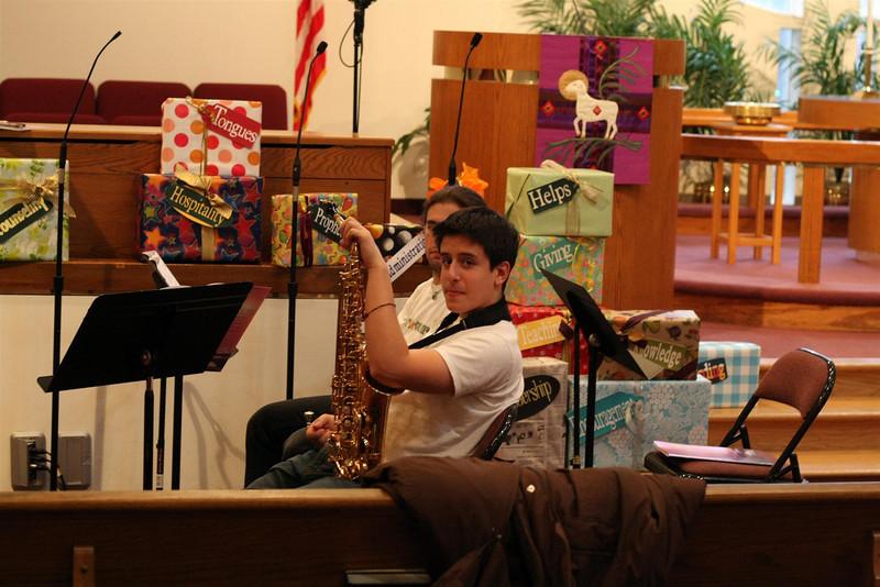 PUMC Wind Ensemble Rehearsal 2009-03-15 (2)