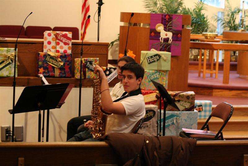 PUMC Wind Ensemble Rehearsal 2009-03-15 (1)