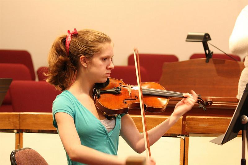 PUMC Wind Ensemble Rehearsal 2009-03-15 (29)