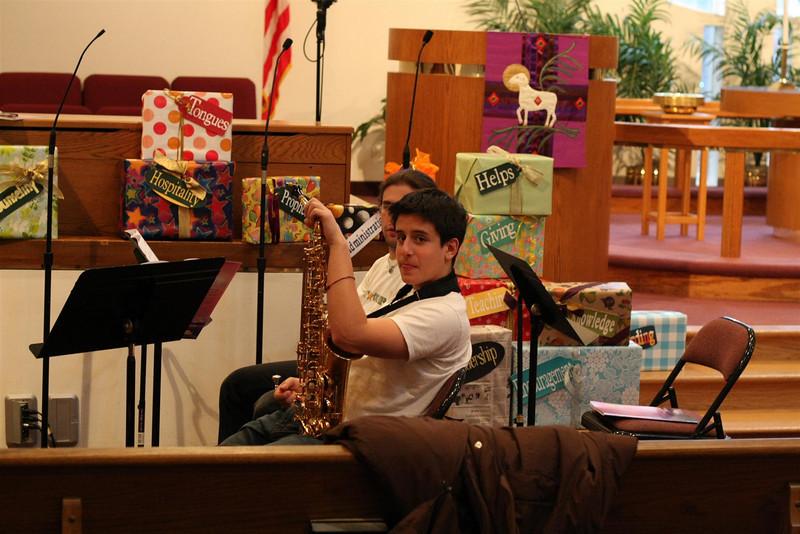 PUMC Wind Ensemble Rehearsal 2009-03-15 (3)