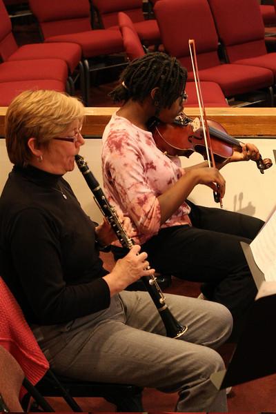 PUMC Wind Ensemble Rehearsal 2009-03-15 (19)